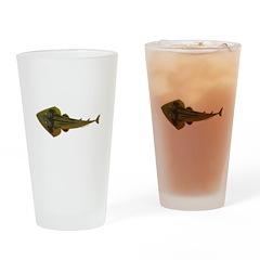 Guitarfish Ray fish Drinking Glass