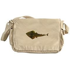 Guitarfish Ray fish Messenger Bag