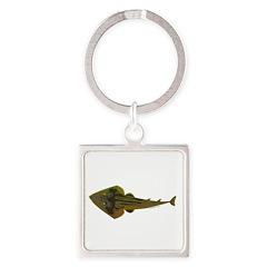 Guitarfish Ray fish Keychains