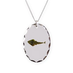 Guitarfish Ray fish Necklace
