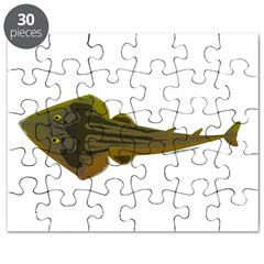 Guitarfish Ray fish Puzzle