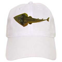 Guitarfish Ray fish Baseball Baseball Cap