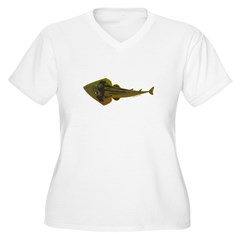Guitarfish Ray fish Plus Size T-Shirt