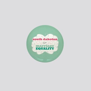 South Dakotan for Equality Mini Button