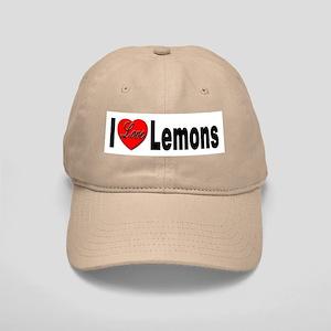 I Love Lemons Cap