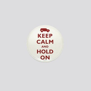FJCruiser Keep Calm and Hold On Mini Button