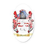 Bignall Oval Car Magnet