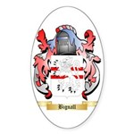 Bignall Sticker (Oval 10 pk)