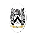 Biglio 20x12 Oval Wall Decal