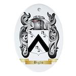 Biglio Ornament (Oval)