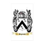 Biglietto Sticker (Rectangle 50 pk)