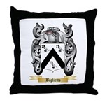Biglietto Throw Pillow