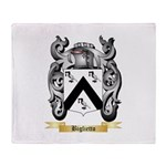 Biglietto Throw Blanket