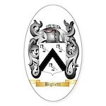 Biglietti Sticker (Oval 50 pk)