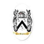 Biglia Oval Car Magnet