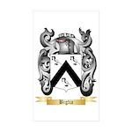 Biglia Sticker (Rectangle 10 pk)