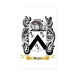 Biglia Sticker (Rectangle 50 pk)