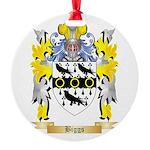 Biggs Round Ornament