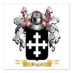 Biggar Square Car Magnet 3