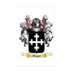 Biggar Sticker (Rectangle 50 pk)