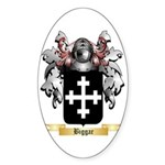 Biggar Sticker (Oval 50 pk)