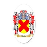 Bielby Oval Car Magnet