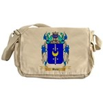 Biela Messenger Bag