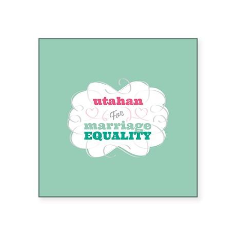 Utahan for Equality Sticker