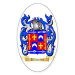Bidjerano Sticker (Oval 50 pk)