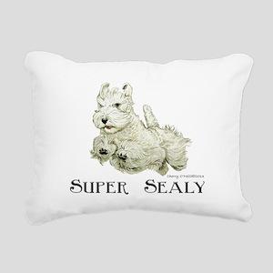 Super Sealyham Terrier Rectangular Canvas Pillow