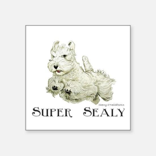 Super Sealyham Terrier Sticker
