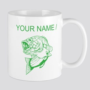 Custom Green Bass Mug