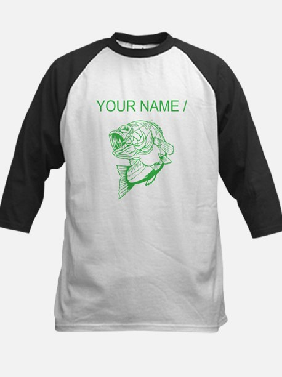 Custom Green Bass Baseball Jersey