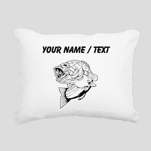 Custom Bass Rectangular Canvas Pillow