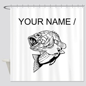 Custom Bass Shower Curtain