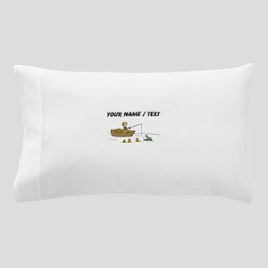 Custom Fishing Cartoon Pillow Case