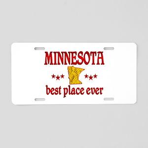 Minnesota Best Aluminum License Plate
