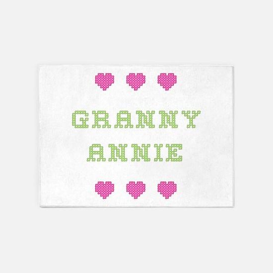 Granny Annie 5'x7' Area Rug