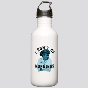 Lucy I Don't Do Mornin Stainless Water Bottle 1.0L