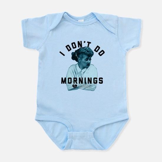 Lucy I Don't Do Mornings Infant Bodysuit