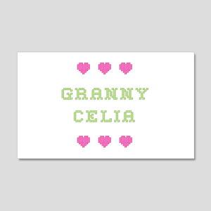 Granny Celia 20x12 Wall Peel