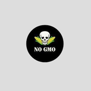 NO GMO Mini Button