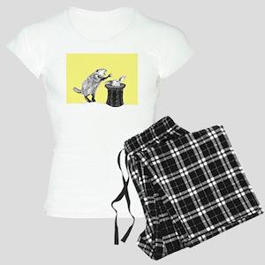 Yellow beaver and rabbit Pajamas