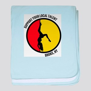 Support Your Local Talent baby blanket