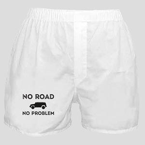 FJ Cruiser No road No Problem Boxer Shorts