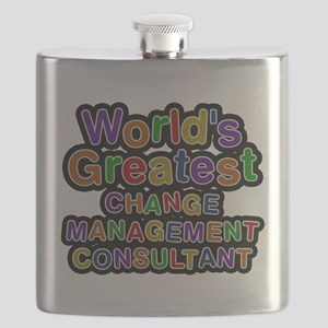 Worlds Greatest CHANGE MANAGEMENT CONSULTANT Flask