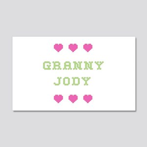 Granny Jody 20x12 Wall Peel