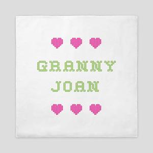 Granny Joan Queen Duvet