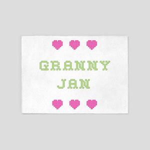 Granny Jan 5'x7' Area Rug