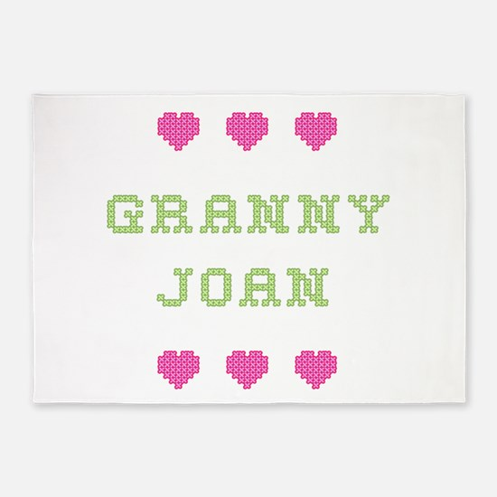 Granny Joan 5'x7' Area Rug